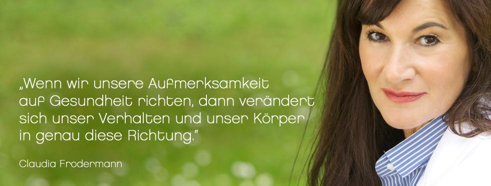 Gesundheit - Claudia Frodermann Training & Beratung