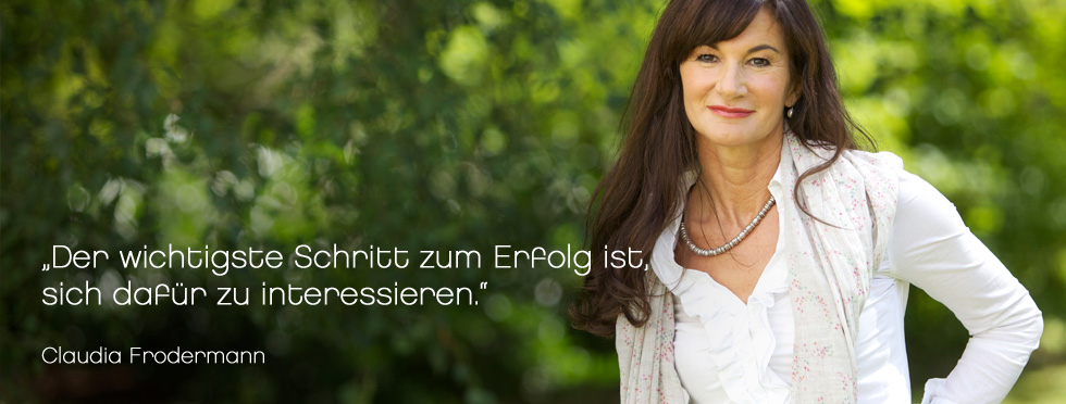 Persönlichkeitsentwicklung - Claudia Frodermann Training & Beratung
